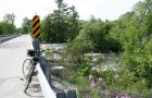 bicycle on bridge near Almonte, Ontario