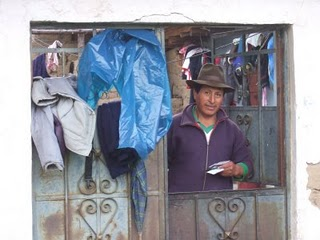 Ancash village man home
