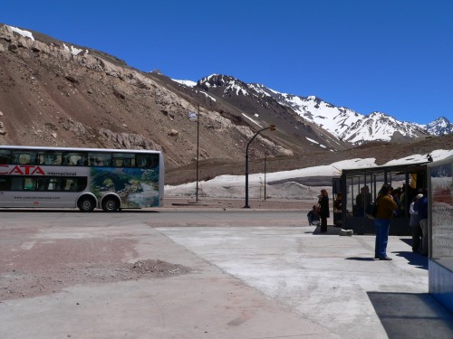 Bus Chile Argentina Andes
