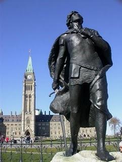 """""""Sir Galahad"""" statue Ottawa"""