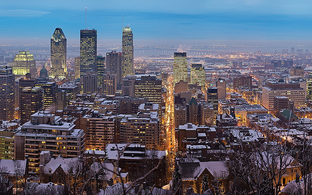 """Montreal skyline"" Trodel"