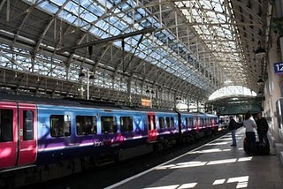 Manchester railway station
