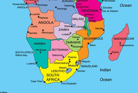 Where Is Luanda Angola On The Map Ireland Map - Angola map