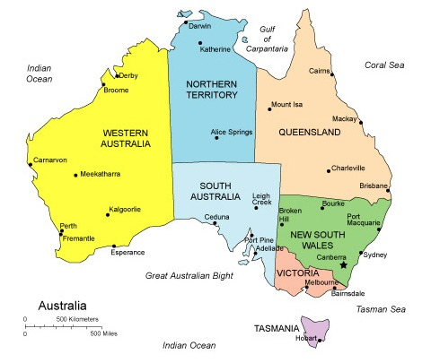 Map Of Australia Funny.Year Of Geography Australia Facing The Street