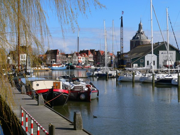 The Dutch town of Enkhuizen, home to the open-air Zuiderzee Museum, is a great place just to hang out. Photo by Laura Byrne Paquet.